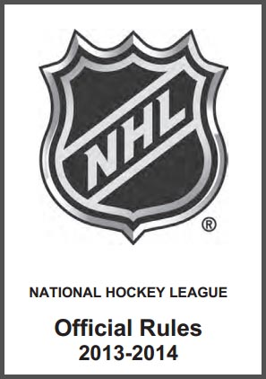 NHL 2013-14 Rule Book