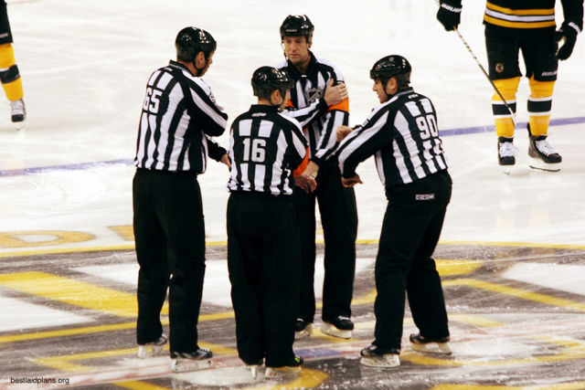 Tonight's Officials – 11/14/13