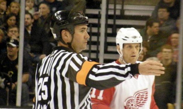 Tonight's NHL Referees – 4/7/14
