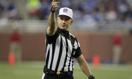 NFL Refs Advised to 'Explain Unusual Situations'