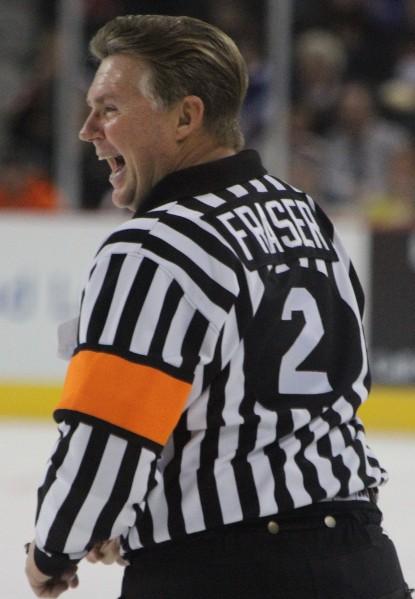 Former NHL Referee Kerry Fraser