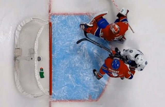 No Goal Call Against Lightning vs. Habs