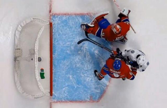 No Goal Call Against Lightning vs. Habs