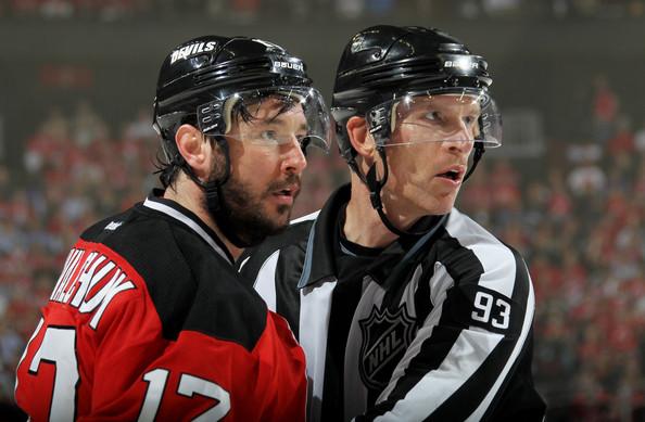 NHL Linesman Brian Murphy (#93)