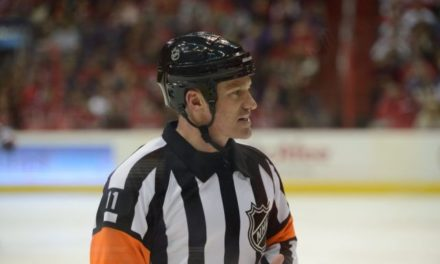 Q&A with NHL Referee Kelly Sutherland