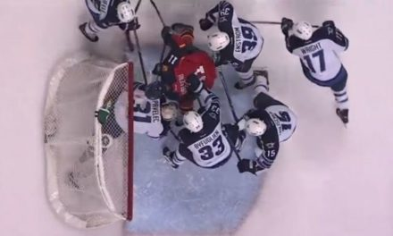 Panthers Goal Disallowed on Intent to Blow