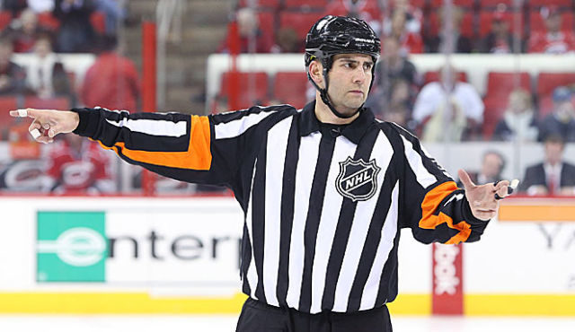Tonight's Officials – 1/24/14