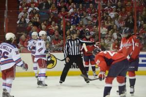 NHL Linesman Greg Devorski (#54)