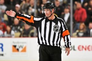 Referee Greg Kimmerly #18