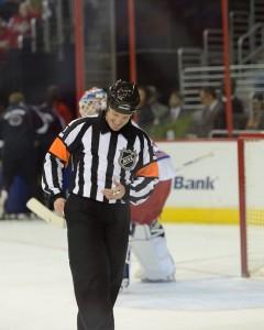 NHL Referee Kelly Sutherland (#11)