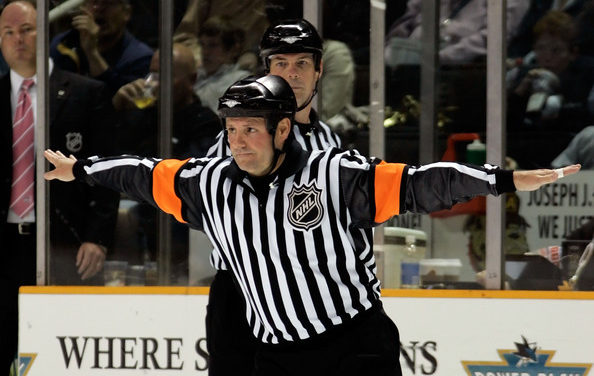 Tonight's NHL Referees & Linesmen – 4/5/15