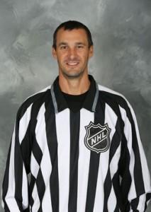 NHL Linesman Ryan Galloway (#82)