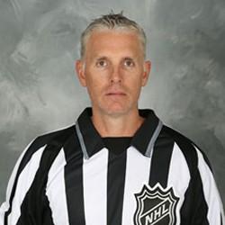 NHL Linesman Brad Kovachik (#71)