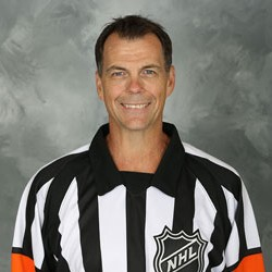 NHL Referee Mike Leggo (#3)