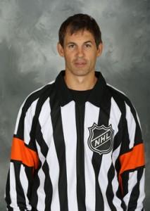 NHL Referee Wes McCauley (#4)