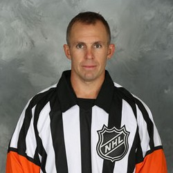 NHL Referee Brian Pochmara (#16)
