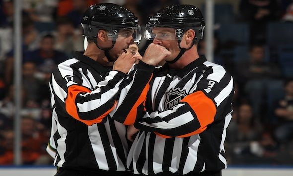 Tonight's Officials – 1/10/14