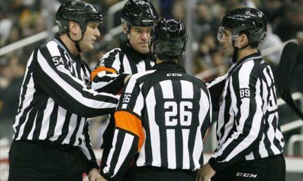 Tonight's NHL Referees – 3/17/14