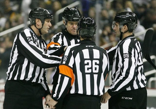 Tonight's NHL Referees – 3/17/14
