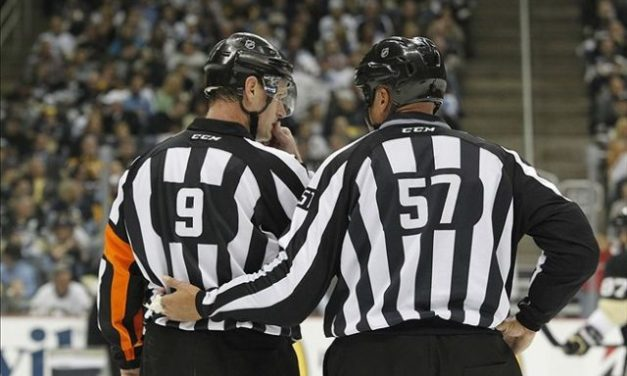 Tonight's NHL Referees and Linesmen – 3/13/18
