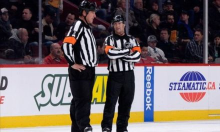 Tonight's NHL Playoff Referees & Linesmen – 4/27/15