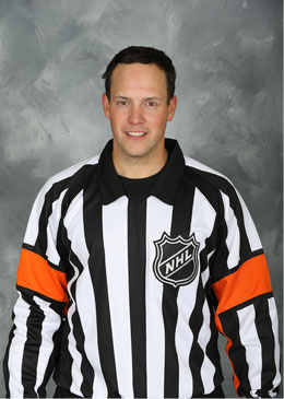 NHL Referee Graham Skilliter (#48)