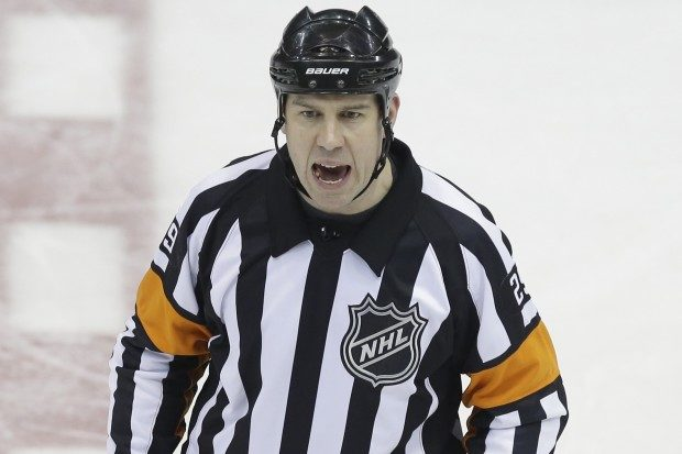 Tonight's NHL Referees – 3/28/14