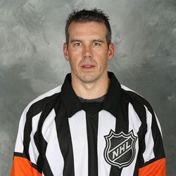 NHL Referee Ian Walsh #29