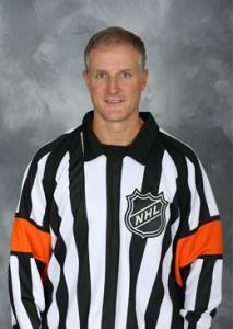 NHL Referee Brad Watson (#23)