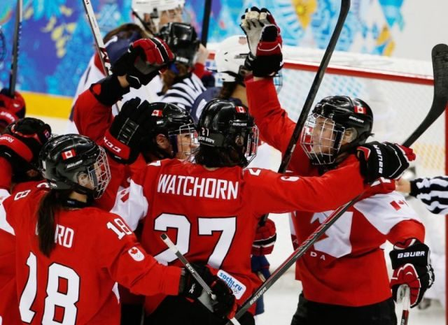 USA/Canada Women's Gold Medal Game Ends in Officiating Debacle