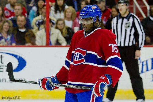 Montreal Canadiens Defenseman P.K. Subban