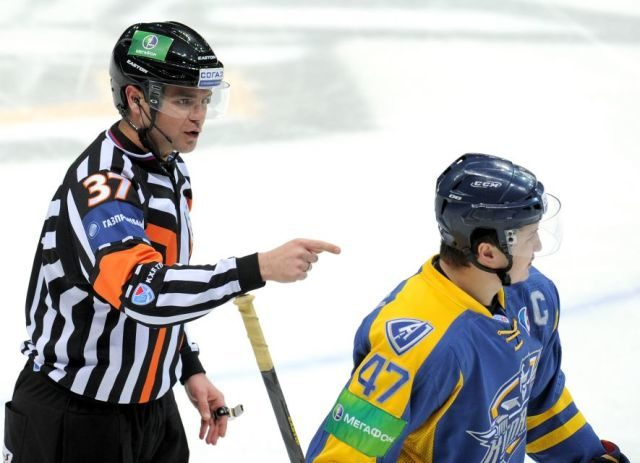 KHL Referees and Linesmen – 2014-15
