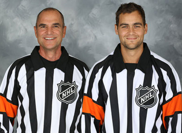 Tonight's NHL Referees – 2/25/14