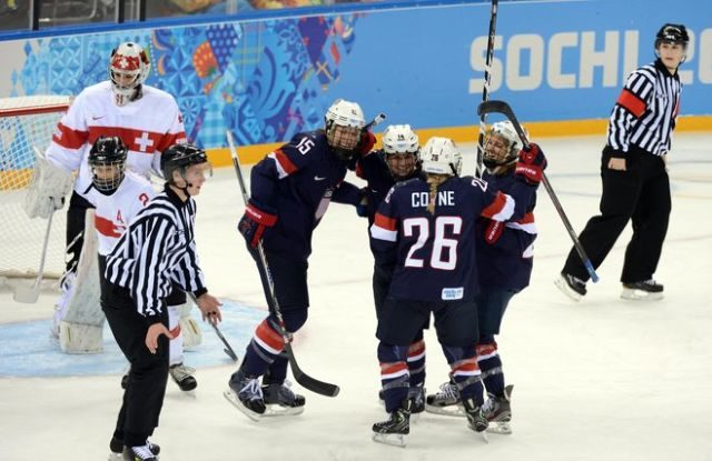 Sochi 2014 Winter Olympics Hockey Officials