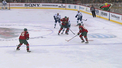 Niederreiter Takes Out Burrows With Head Shot