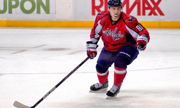 Caps' Orlov Suspended for Hit on Schenn
