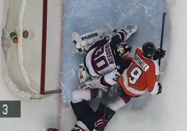 Disallowed Goal Devastating for Flyers
