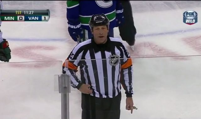 Brad Meier Waves off Wild Goal for Apparent 'No-Touch Interference'