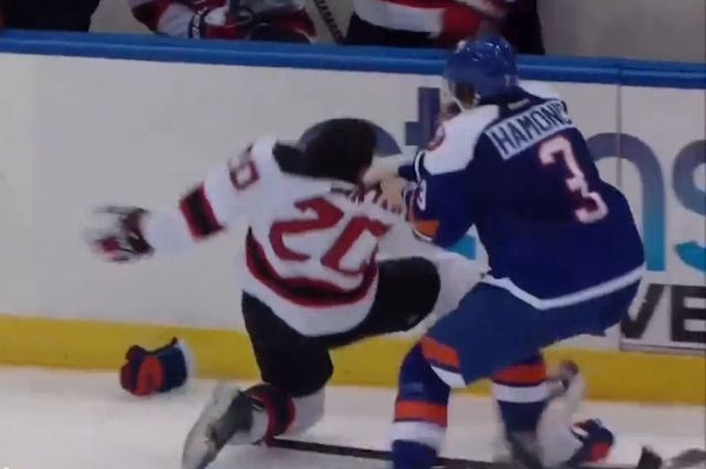 Hamonic Suspended One Game for Instigating
