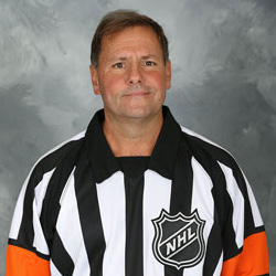 NHL Referee Paul Devorski (#10)