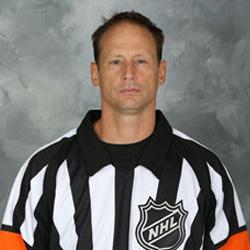 NHL Referee Chris Lee (#28)
