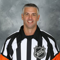 NHL Referee Dean Morton (#36)