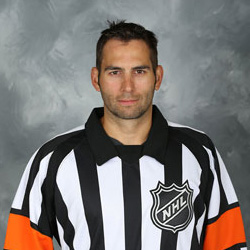 NHL Referee Francois St. Laurent (#38)