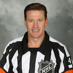 NHL Referee Kelly Sutherland