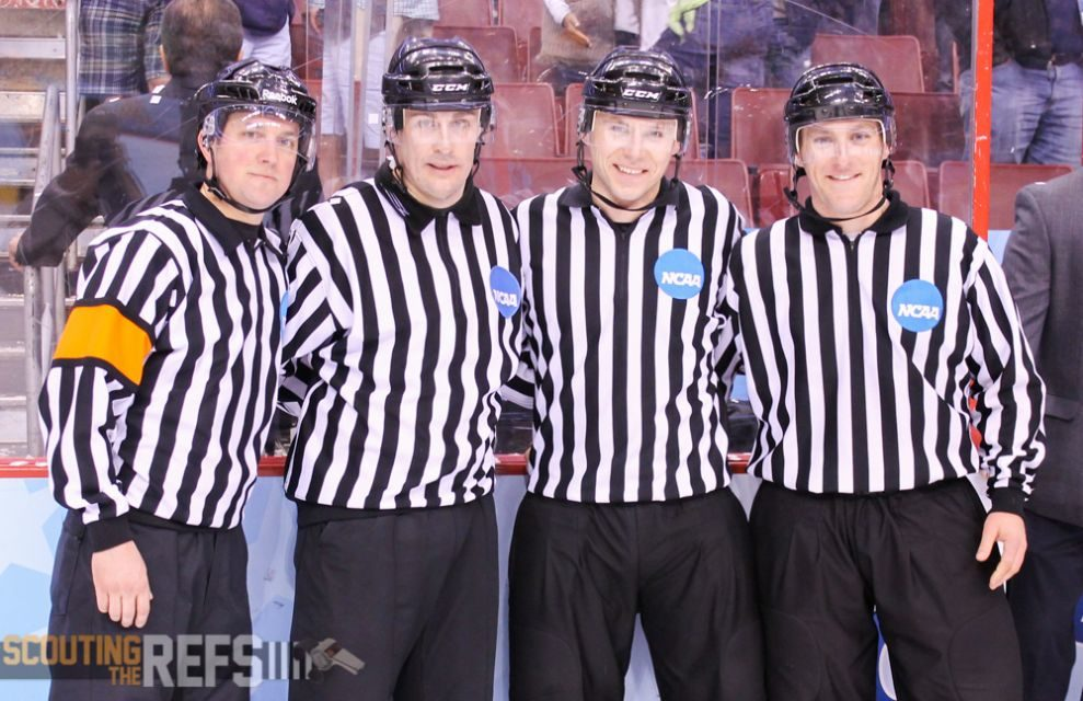 Frozen Four: Post-Game with the Officials