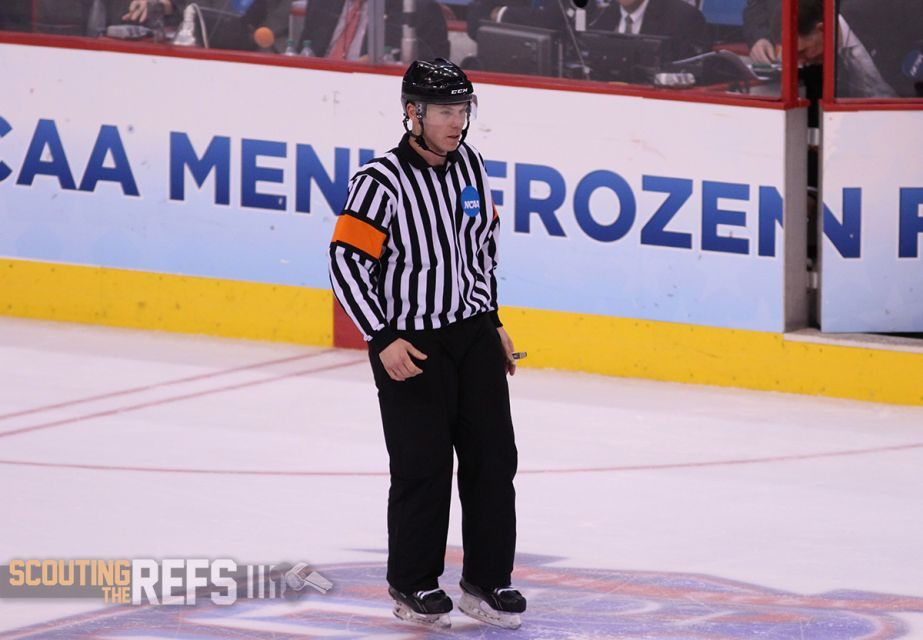 Referee Geoff Miller Heading to Finland for U18 World Championships