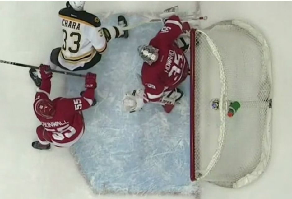 Bruins' Krug Has Goal Waved Off by Rooney for Interference