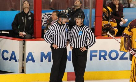 Tonight's Frozen Four National Championship Officials