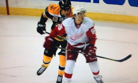 Bruins' Lucic Fined $5000 for Spearing Red Wings' DeKeyser