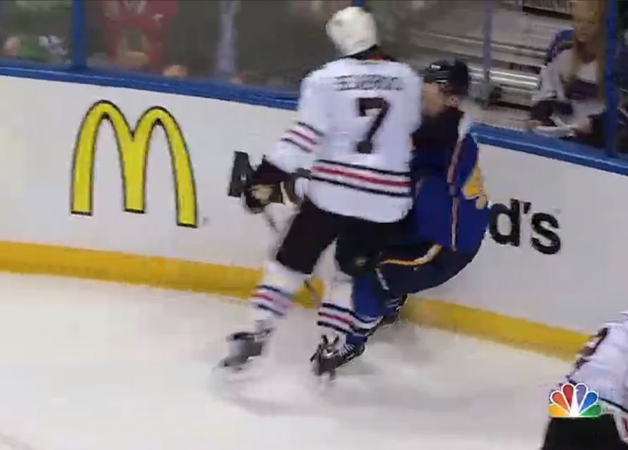 Blackhawks' Seabrook Suspended for Three Games